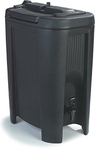Carlisle XB503 Cateraide Slide N Seal Polyethylene Beverage Dispenser, 5 gal, Black (Beverage Dispenser Warehouse compare prices)