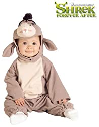 Shrek Baby Eeyore Donkey Plush Costume Infant 6-12m