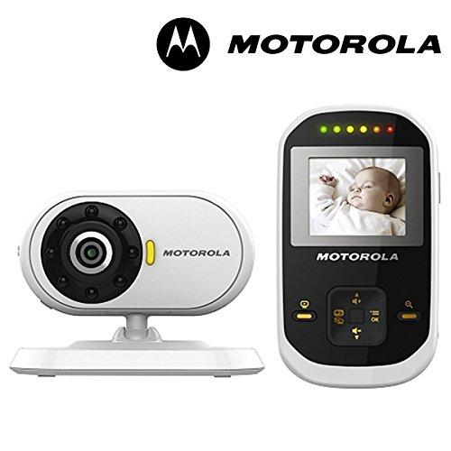 Motorola MBP18 Remote Digital Video Audio Baby Monitor