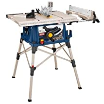 Factory-Reconditioned Ryobi ZRRTS21 10 in. Table Saw with QuickStand
