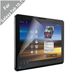 Acase(TM) AcaseView Screen Protector Films (Anti-Glare, Anti- Fingerprint, Matte) for Samsung Galaxy Tab 10.1 (3 Pack)