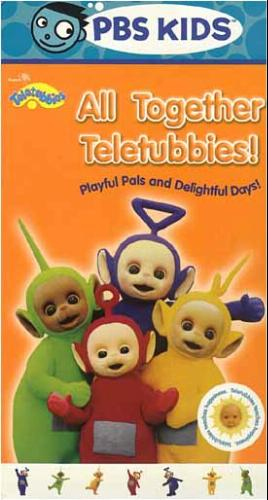 Amazon.com: Teletubbies: All Together Teletubbies! [VHS]