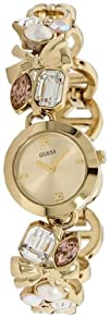 Guess Womens U12627L1 Gold Gold Tone Quartz Watch with Gold Dial