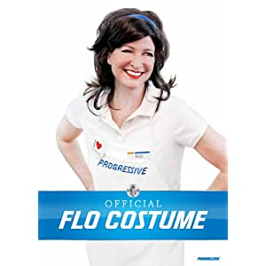 Progressive Collection Flo Insurance Girl Costume
