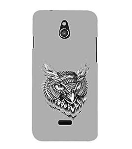 EPICCASE terrific owl Mobile Back Case Cover For Infocus M2 (Designer Case)