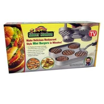 Big City Slider Station Hamburger Press (Slider Pan compare prices)