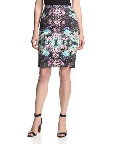 Rachel Roy Women's Tropical Spike Pencil Skirt