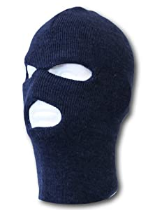 Face Ski Mask 3 Hole Navy