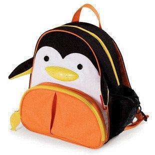Animal Zoo Kids boys girls Toddler Back pack Rucksacks bag Various Designs backpack (PENGUIN)