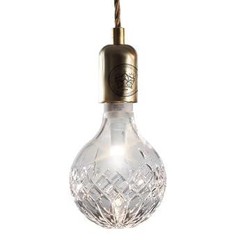 Lee Broom Crystal Bulb Amp Brass Pendant Set Amazon Co Uk