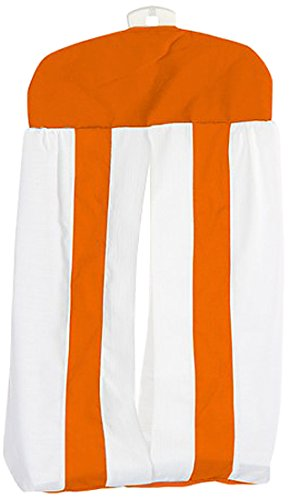Baby Doll Modern Hotel Style Diaper Stacker, Orange