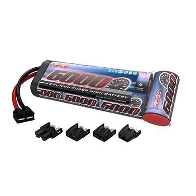 Venom 8.4V 5000mAh 7-Cell NiMH Battery Flat Pack with Universal Plug (EC3/Deans/Traxxas/Tamiya)