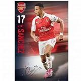 Alexis Sanchez & Arsenal FC Poster