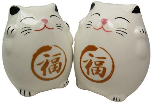 Ceramic Cat Salt and Pepper Shakers 2