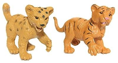 Safari Ltd Zoo Babies Toy Figurine Toob With 12 Adorable Baby Animals Including A Baby Zebra Panda Leopard Hippo Chimpanzee Rhino Alligator Gorilla Elephant Tiger Polar Bear And Giraffe by Safari LTD