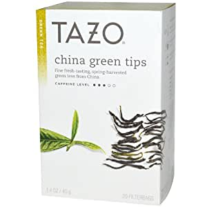 China green tea tips