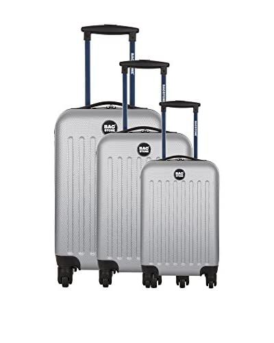 BAGSTONE Set de 3 trolleys rígidos Angel 0 cm