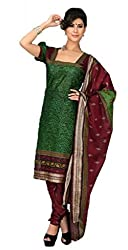 Vivacity Women's Cotton Unstitched Dress Material (GB-11_Multi_Free Size)