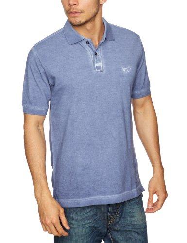 GAS Ralph Printed Men's T-Shirt Pastell Blue Large