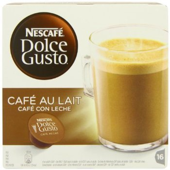 Buy Nescafé Dolce Gusto Café Au Lait (Pack of 3, Total 48 Capsules/Coffee Pods) from Nescafe