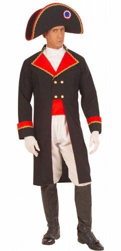 [XL NAPOLEON COSTUME (jacket jabot pants belt bootcovers hat)] (Napoleon Hat Costume)