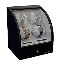 Pangaea Quad Automatic Watch Winder (Black) Q400