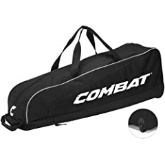 Buy Combat Signature Youth Players Baseball Softball Wheel Bag by Combat