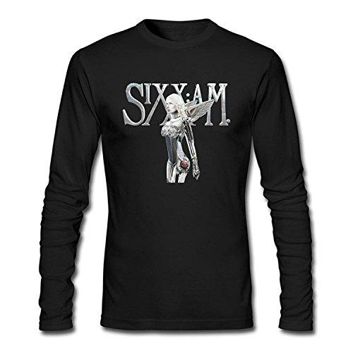 Men's Sixx A M Long Sleeve Cotton T Shirt