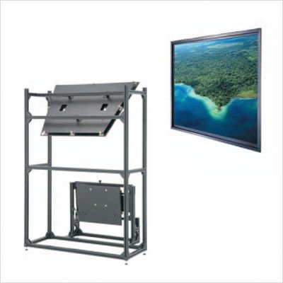 Da-Lite Data Pro Thru-the-Wall Rear Projection 