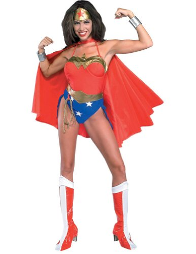 Wonder Woman Sm Adult Halloween Costume - Adult Small