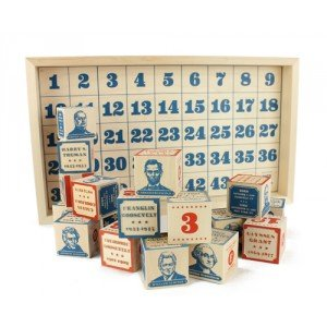 Uncle Goose Presidential Blocks (45 pcs) by Uncle Goose