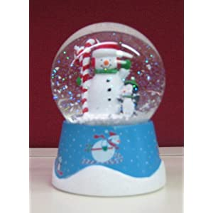 Hallmark Christmas 2012 XKT1088 Swooshin' Duo Down Hill Snowglobe at Sears.com
