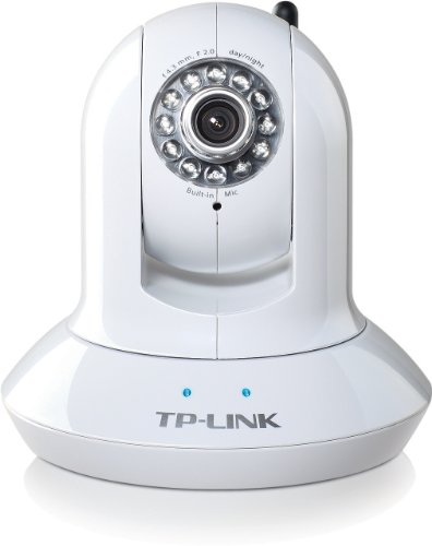 TP-LINK TL-SC4171G Wireless Day/Night Pan/Tilt IP Surveillance Camera, 2.4Ghz 54Mbps,  802.11b/g, Night Vision, $40 Coupon
