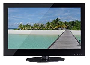 Bauer DUR21641 22-inch Widescreen HD Ready LCD TV DVD Combi with Freeview and USB PVR