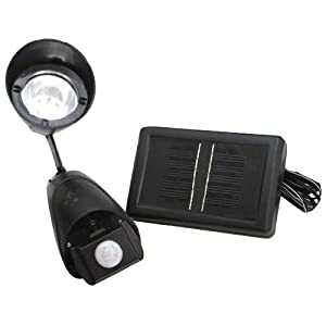Solar Powered Motion Sensor Pir Security Light Outdoor