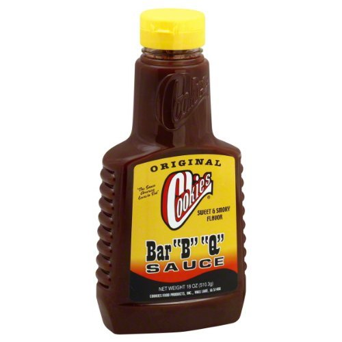 Cookies BBQ Original Barbeque Sauce, 18-Ounce