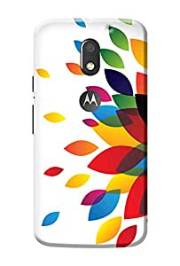 Moto E3 Back Cover Premium Quality Designer Printed 3D Lightweight Slim Matte Finish Hard Case Cover for Moto E3 Power + Free Mobile Viewing Stand