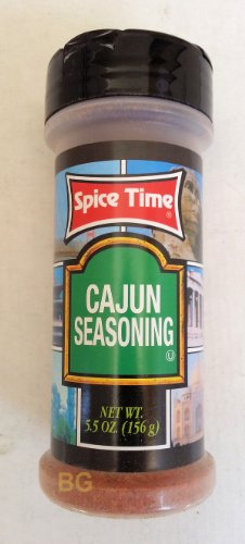 Cajun Seasoning By Spice Time Spices & Herbs 5.5 Oz... Mtc