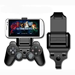 Smart Gameklip Phone Clip Mount For Ps3 Pad Controller Universal IOS Android (BLACK)