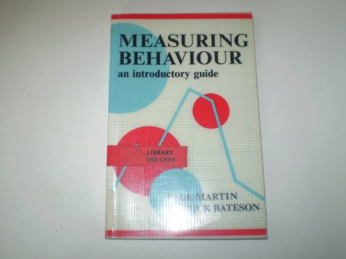 Measuring Behaviour:An Introductory Guide