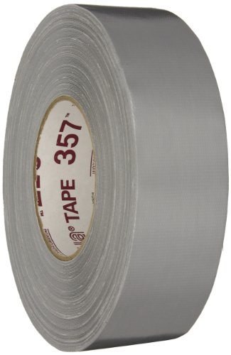 Nashua Polyethylene Coated Cloth Premium Grade Duct Tape, 13 mil Thick, 55 m Length, 48 mm Width, Silver