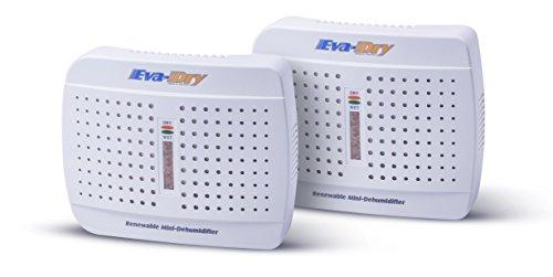 Eva-dry E-333 Renewable Mini Dehumidifier 2-PACK (Renewable Mini Dehumidifier compare prices)