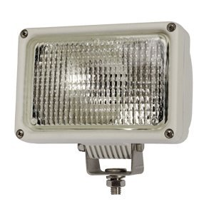 """Brand New Hobbs Corporation - Hobbs 4X6 Marine Hid Lamp 12V White Wide Flood """"Product Category: Electrical/Spot & Flood Lights"""""""