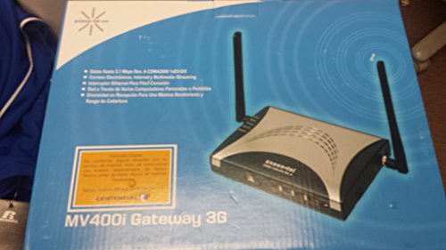 Axesstel Mv400 Series 3G & Wifi Gateway (4 Port Switch, 4 Antennas, Long Range Router)