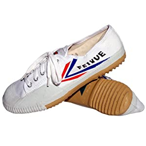 Tiger Claw Feiyue Martial Arts Shoes - White - Size 32