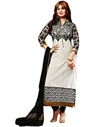 Ayesha Mind Blowing Designer White Salwar Kameez