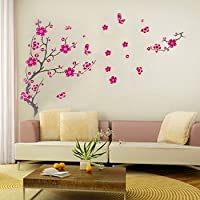 Cherry Blossom Removable Home Mural Wall Sticker Decal by YBAMZQ