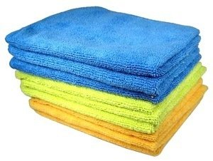 Cables Unlimited Accfiber9Xl Ultra Absorbent Microfiber Cleaning Cloths - 9 Pack