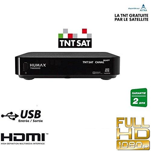 Récepteur Satellite TNT HD ASTRA + carte TNTSAT