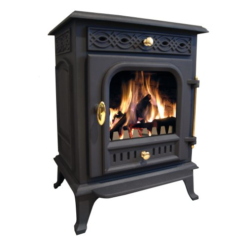 Buckingham 8kw Cast Iron Wood Burning Log Burner Multi-fuel Stove